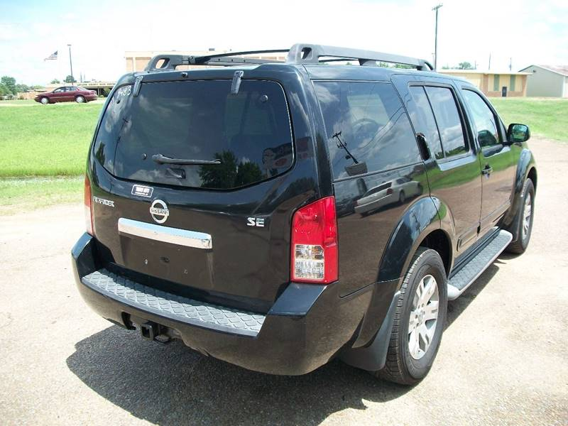 2009 Nissan Pathfinder 4x4 Se Off Road 4dr Suv In Greenwood Ms