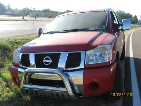 2005 Nissan Titan for sale in Greenwood, MS