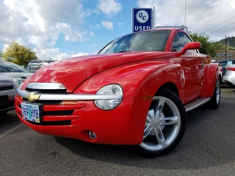 2003 Chevrolet SSR 2dr Regular Cab Convertible LS Rwd SB - Grants Pass OR