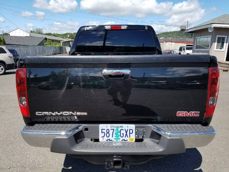 2012 GMC Canyon 4x4 SLE-1 4dr Crew Cab - Grants Pass OR