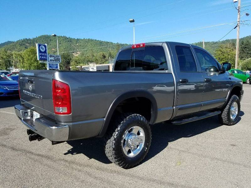 2006 Dodge Ram Pickup 2500 SLT 4dr Quad Cab 4WD SB - Grants Pass OR