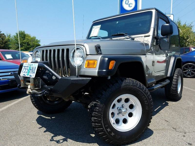 2005 Jeep Wrangler 2dr X 4WD SUV - Grants Pass OR