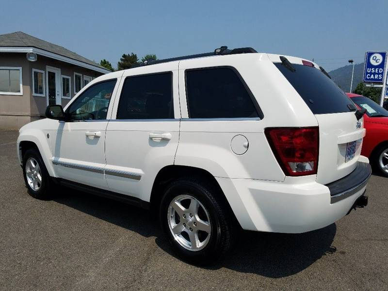 2006 Jeep Grand Cherokee Limited 4dr SUV 4WD w/ Front Side Airbags - Grants Pass OR