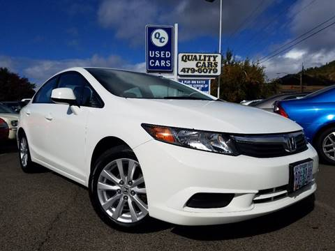 2012 Honda Civic for sale in Grants Pass, OR