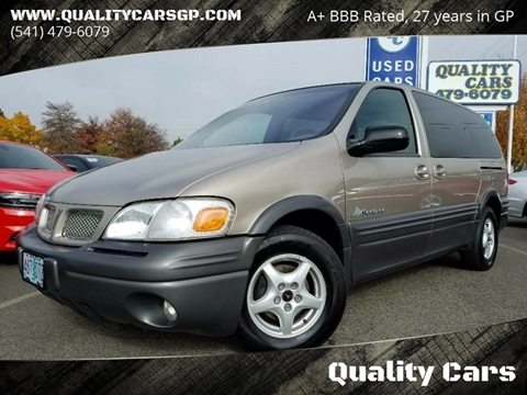 2000 Pontiac Montana for sale in Grants Pass, OR