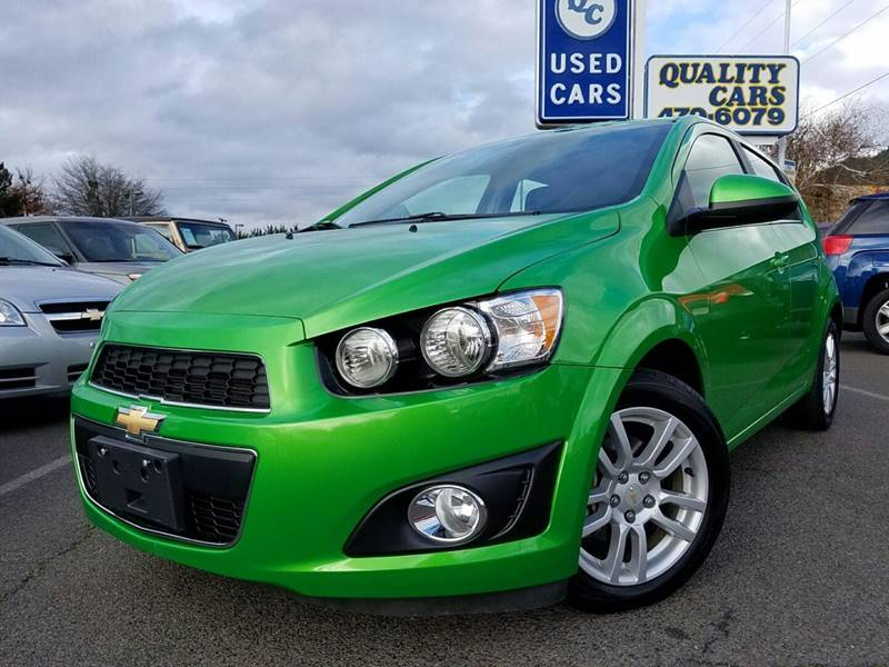2015 Chevrolet Sonic LT Auto 4dr Hatchback - Grants Pass OR