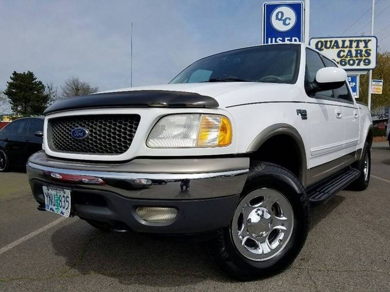2001 Ford F-150 4dr SuperCrew Lariat 4WD Styleside SB - Grants Pass OR