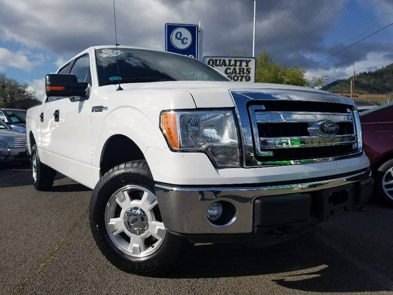 2013 Ford F-150 4x4 XLT 4dr SuperCrew Styleside 5.5 ft. SB - Grants Pass OR