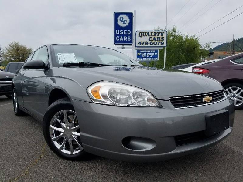 2006 Chevrolet Monte Carlo LT 2dr Coupe w/1LT - Grants Pass OR