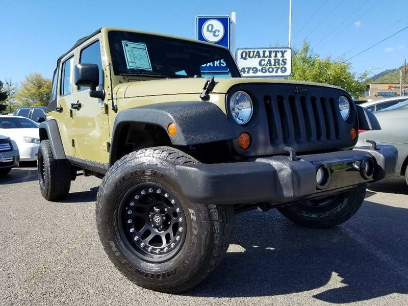 2013 Jeep Wrangler Unlimited 4x4 Sport 4dr SUV - Grants Pass OR