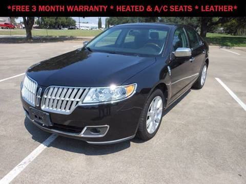 2011 Lincoln MKZ for sale in Richardson, TX
