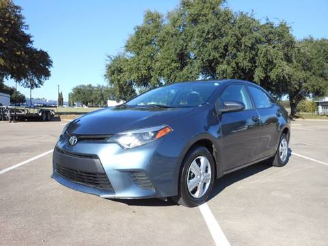 2015 Toyota Corolla for sale in Richardson, TX