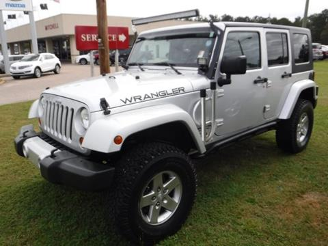 2010 Jeep Wrangler Unlimited for sale in Enterprise AL