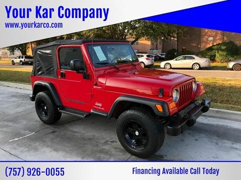 2006 Jeep Wrangler for sale in Norfolk, VA