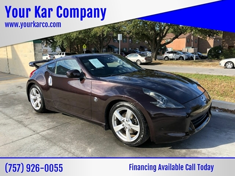 2010 Nissan 370Z for sale in Norfolk, VA