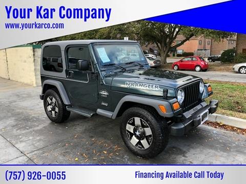 2005 Jeep Wrangler for sale in Norfolk, VA