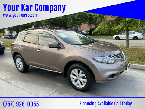 2011 Nissan Murano for sale at Your Kar Company in Norfolk VA