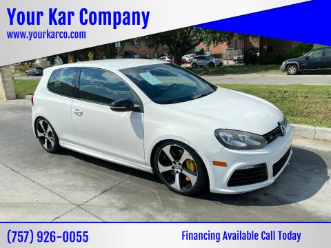 2012 Volkswagen Golf R for sale at Your Kar Company in Norfolk VA
