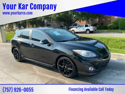 2013 Mazda MAZDASPEED3 for sale at Your Kar Company in Norfolk VA