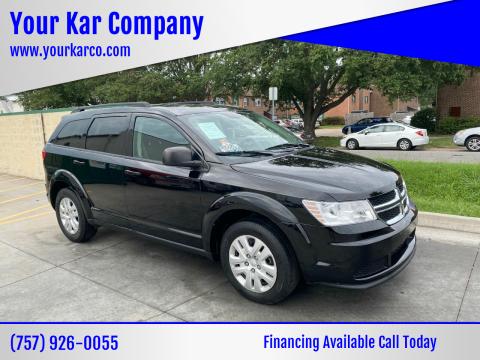 2018 Dodge Journey for sale at Your Kar Company in Norfolk VA