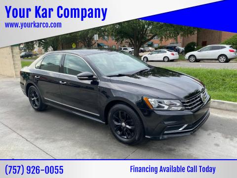 2017 Volkswagen Passat for sale at Your Kar Company in Norfolk VA