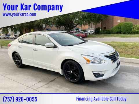 2015 Nissan Altima for sale at Your Kar Company in Norfolk VA
