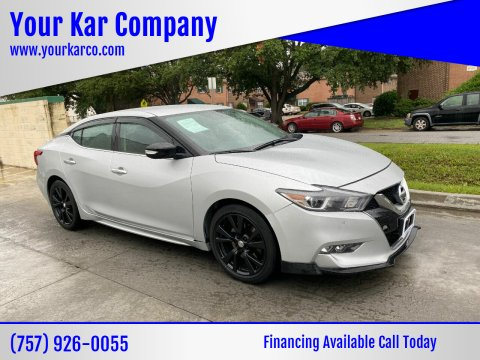 2017 Nissan Maxima for sale at Your Kar Company in Norfolk VA
