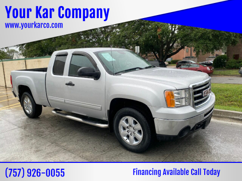 2012 GMC Sierra 1500 for sale at Your Kar Company in Norfolk VA