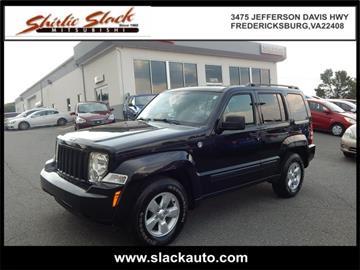 2012 Jeep Liberty for sale in Fredericksburg, VA
