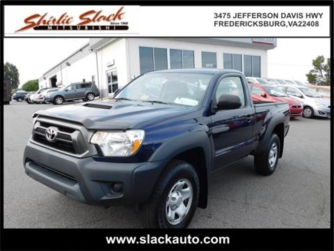 2012 Toyota Tacoma for sale in Fredericksburg, VA