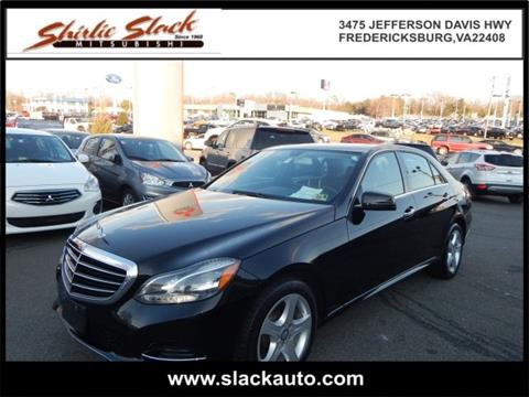 Mercedes benz e class for sale in fredericksburg va for Mercedes benz in fredericksburg va