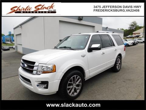2015 Ford Expedition for sale in Fredericksburg, VA