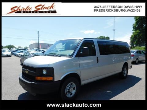 2011 Chevrolet Express Passenger for sale in Fredericksburg, VA
