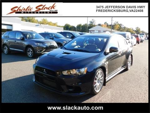 2015 Mitsubishi Lancer Evolution for sale in Fredericksburg, VA
