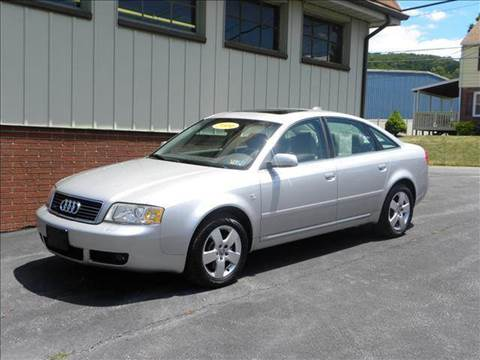 2004 Audi A6 for sale at Helmut Hoyer's Foreign Car Sales & Service in Allentown PA