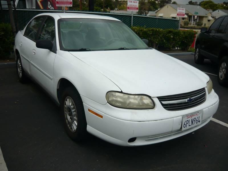 2001 Chevrolet Malibu 4dr Sedan - La Mesa CA