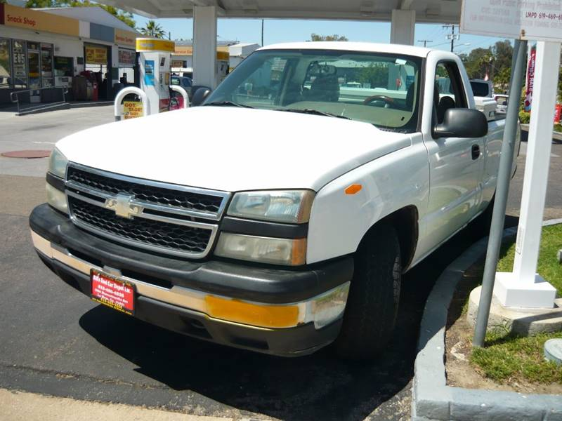 2006 Chevrolet Silverado 1500 Work Truck 2dr Regular Cab 6.5 ft. SB - La Mesa CA
