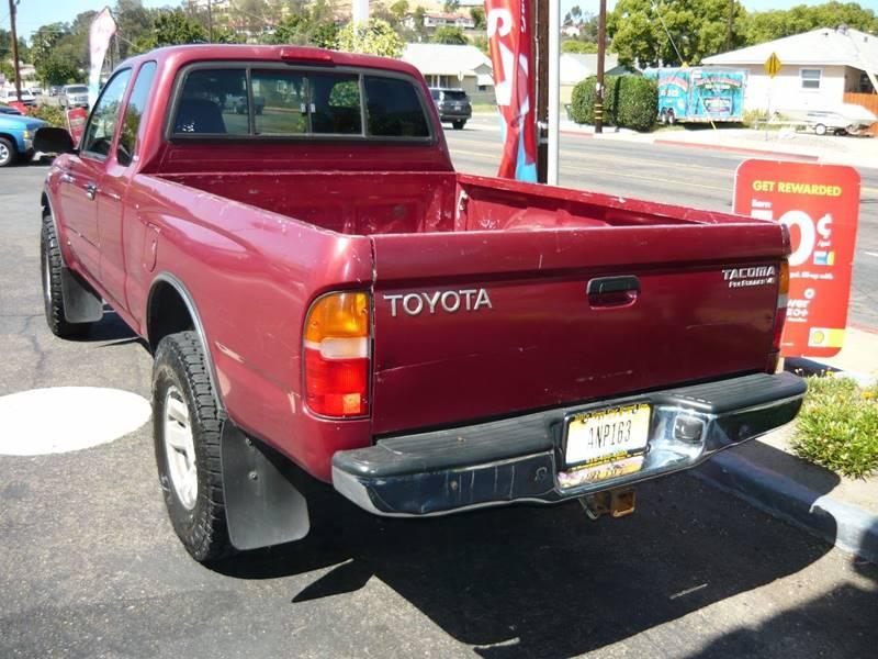 1999 Toyota Tacoma 2dr Prerunner V6 Extended Cab SB - La Mesa CA