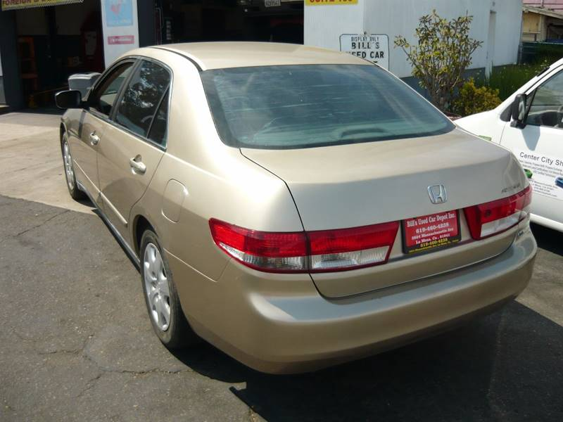 2004 Honda Accord LX V-6 4dr Sedan - La Mesa CA