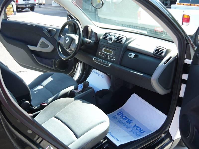 2009 Smart fortwo pure 2dr Hatchback - La Mesa CA