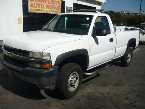 2002 Chevrolet Silverado 2500HD for sale in La Mesa, CA