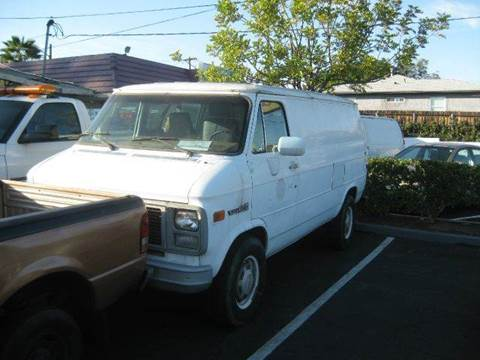 1991 GMC Vandura for sale at Bill's Used Car Depot Inc in La Mesa CA