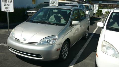 2002 Toyota Prius for sale at Bill's Used Car Depot Inc in La Mesa CA