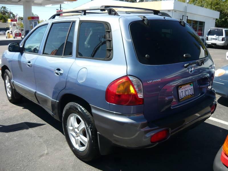 2001 Hyundai Santa Fe GL 2WD 4dr SUV - La Mesa CA