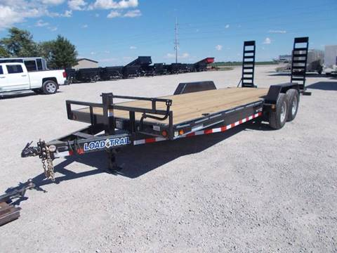 2017 Load Trail 22' Equipment Trailer