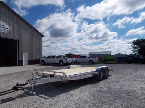 2018 Quality Steel 20' Aluminum Car Trailer for sale in Arthur, IL