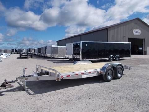 2018 Quality Steel 18' Aluminum Car Trailer for sale in Arthur, IL