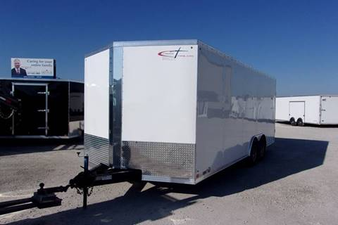 2018 Cross 8.5X20 Trailer