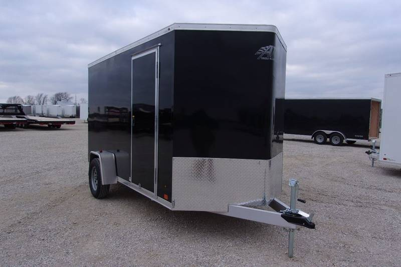 2018 ATC 6X12 Trailer Aluminum Enclosed Cargo 6 Extra Height