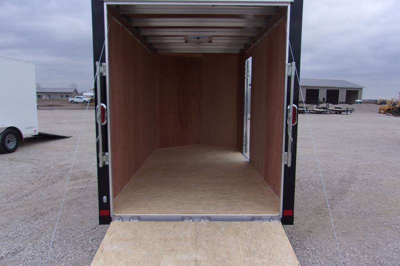 2018 Atc 6X12 Trailer Aluminum Enclosed Cargo 6 Extra